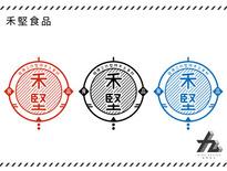 禾堅食品LOGO提案-九視覺設計
